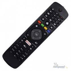 Controle Remoto Tv Philips Smart Netflix RBR-8049